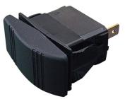 Sea Dog 420218-1 Illuminating Contura Rocker Switch, On/Off/On / DPDT