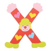 Tatiri Crazy Clown Letter X (