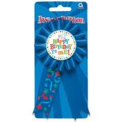 Amscan International Birthday Fever Happy Birthday Award Ribbon