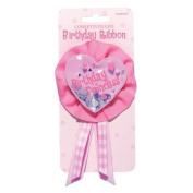 Amscan International First Birthday Princess Confetti Award Ribbon