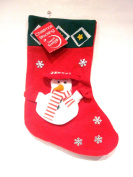 3D snowman Christmas Stocking