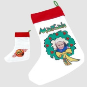 Personalised Photo Christmas Stocking - Ideal for Children