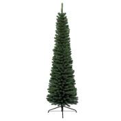 Kaemingk 680061 Pencil Pine Tree Narrow Trunk Soft PVC Needles Indoor Use Height 180 CM