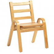 Angeles Corporation AB78C11 28cm . Naturalwood Chair