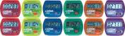 Olympia Sports TL237P Coloured Step Pedometers - Set of 12 - 2 ea. Colour
