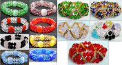 Bulk Buys Wholesale crystal bracelet jewellery stretchable - Case of 50