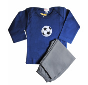 Loralin Design BNS6 Soccer Outfit - Blue 6-12 Months