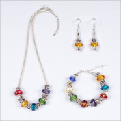 My Favourite Beads 135371 Array of Colour Pandora Style 3 Piece Set