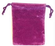 AzureGreen RV34PU 7.6cm . x 10cm . Bag Velveteen - Purple