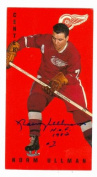 Autograph Warehouse 64328 Norm Ullman Autographed Hockey Card Detroit Red Wings 1995 Parkhurst 1964-1965 Tallboys No. 58