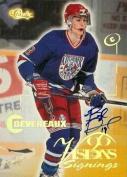Autograph Warehouse 82936 Boyd Devereaux Autographed Hockey Card Edmonton Oilers 1996 Classic Rookie
