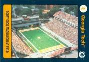 Autograph Warehouse 96750 Bobby Dodd Stadium Football Card Georgia Tech 1991 Collegiate Collection No. 99
