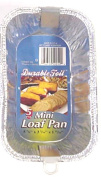 DDI 370700 Mini Foil Loaf Pan -Pack of 24