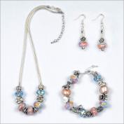 My Favourite Beads 135050 New Mom - Pandora Style Baby Girl or Boy 3 Piece Set