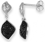 Doma Jewellery MAS00603 Sterling Silver Earrings with CZ