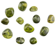 Azure Green GTSERB 0.5kg Serpenitine tumbled