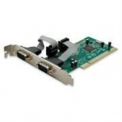 SYBA SY-PCI15004 Dual DB-9 Serial - RS-232 - Ports PCI Controller Card with Netmos 9865 Chipset
