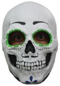 Morris Costumes TB26455 Catrin Skull Latex Mask