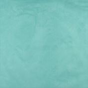 Designer Fabrics C094 140cm . Wide Aqua Green Microsuede Upholstery Grade Fabric