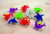 Ready2Learn Giant Sea Creatures Stamp Set With Storage Case - 7.6cm . - Set - 10