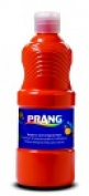 Prang Non-Toxic Ready-To-Use Liquid Tempera Paint - 1 Pt. Squeeze Bottle Orange