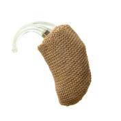 Harris Communications Hearing Aid Light Brown Sweatband - 2.5cm . Mini