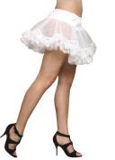 MorrisCostumes CS074 Petticoat Lace White