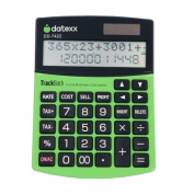 Teledex DD-7422 2-Line 12-Digit Desktop Calculator With 1000-Entry Backtrack Tax And Profit Calculations