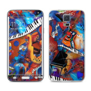 DecalGirl SGS5-MMADNESS for for for for for for for for for for Samsung Galaxy S5 Skin - Music Madness