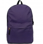 Harvest LM183 Purple 46cm . Classic Backpack 18 x 33cm x 15cm .