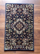 IMS 21130088216051 Traditional Persian Medallion Pattern Accent Rug Blue - 0.6m x 0.9m
