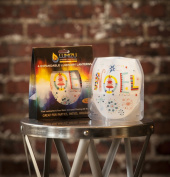 Modgy LUM3012 Lumizu Expandable Luminary Lantern Flakey