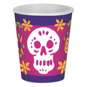 Beistle 00940 Day Of The Dead Beverage Cups Pack Of 12
