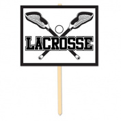 Beistle 54065 Lacrosse Yard Sign Pack Of 6