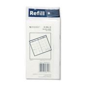 At-A-Glance 7090610 Deluxe Pocket Monthly Planner Refill 3-1/2 x 6-1/8
