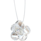 Monella Necklace Silver 925/1000 Rhodium-Plated with. Elements-White Landscape