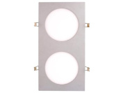 LIGHT PANEL 12W LED LIGHT-SURFACE RECTANGULAR PEREL LEDA19NW - 2
