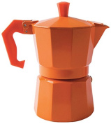 "Excèlsa ""Chicco Colour"" Orange 1 Cup Coffee Maker"