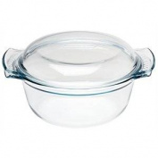 Pyrex Round Glass Casserole Dish 3.75Ltr Size