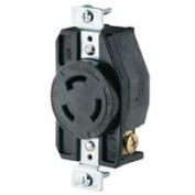 Cooper Wiring 6905202 20A 3Wire Gnd Lock Receptacle
