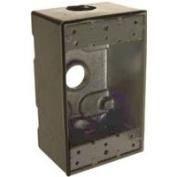 Bell Weatherproof 5320-2 1-Gang 3.5 Outlet Box Rectangular Bronze