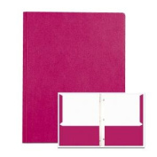 Roaring Spring Paper Products 54131 POCKETS & PRONGS 30cm . x 24cm . MAROON - Pack of 10