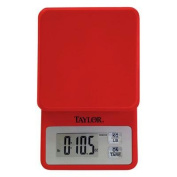 Taylor 3817R Compact Kitchen Scale Red
