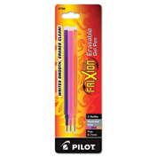Pilot Corp. Of America 77336 Refill for FriXion Erasable Gel Ink Pen Assorted 3/Pk