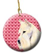 Carolines Treasures SS4530CO1 7.1cm x 7.1cm . Scottish Terrier Ceramic Ornament