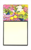 Carolines Treasures 6062SN Flower - Primroses Refiillable Sticky Note Holder or Postit Note Dispenser 7.6cm x 7.6cm .