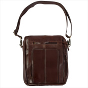 Canyon Outback Leather CY149M Monterey Canyon Leather Media Bag Brown
