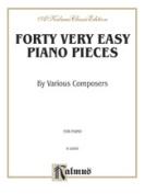 Alfred 00-K02095 40 EASY PIANO PIECES