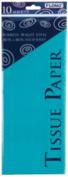 Flomo TS1021 50cm x 70cm . Aqua Tissue Paper - 10 Sheets Count Case of 60
