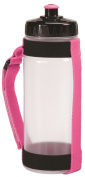 AGM Group 78263 Slim Handheld Bottle Carrier with 550 ml - Pink